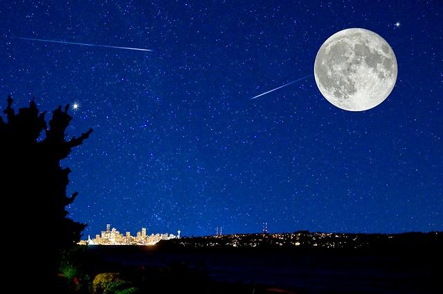 年末年始にかみのけ座、しぶんぎ座流星群が見れる!いつ、どこで?